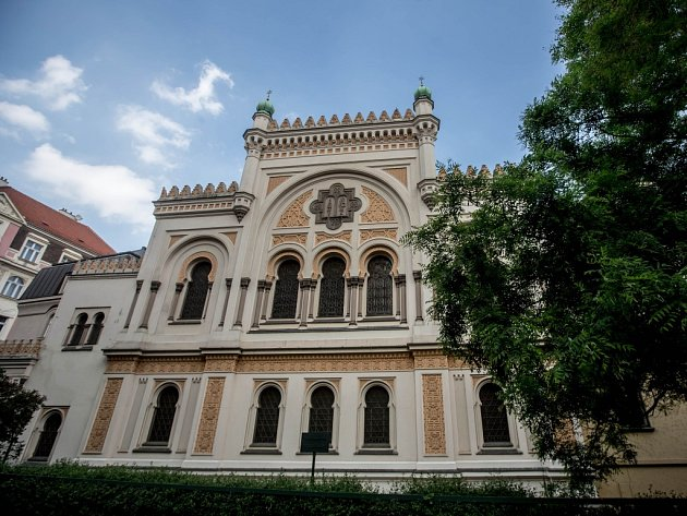 Španělská synagoga.