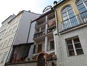 Domy v historickém centru Prahy