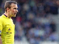 Fotbalový rozhodčí Tomáš Kocourek.