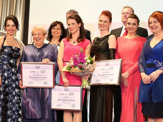 Vítězky 6. ročníku soutěže Žena regionu.