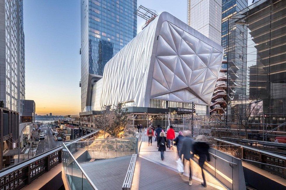 Kulturní centrum v New Yorku.