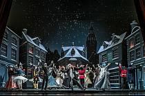 Balet Národního divadla dnes večer nabízí legendárního Louskáčka online.
