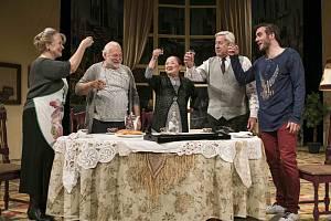 Famílie v Divadle Na Fidlovačce