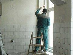 Oprava školy. Ilustrační foto.