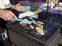 Fishkus a seafood festival na Náplavce.