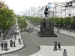PODOBA Václavského náměstí.