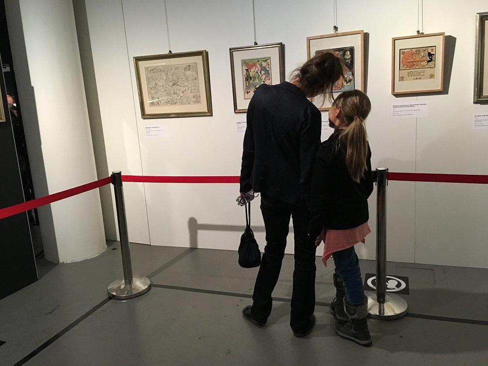 Výstavu Sedmičky Josefa Lady můžete vidět v Tančícím domě.