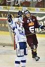 Čtvrtfinále play off hokejové extraligy - 4. zápas: HC Kometa Brno - HC Sparta Praha.