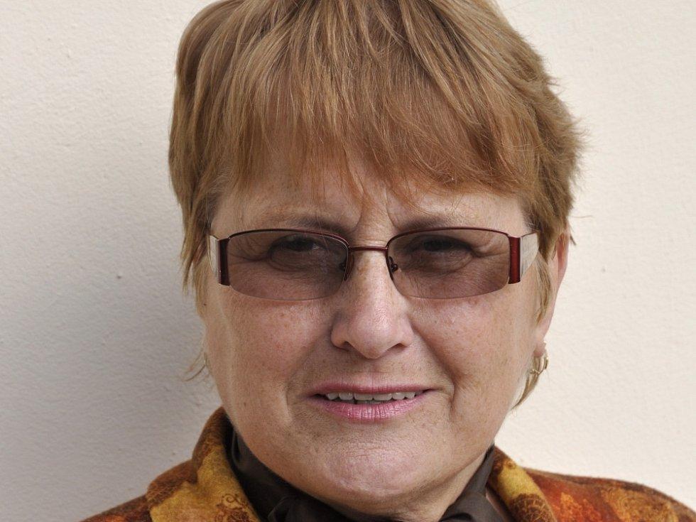 Češtinářka Ludmila Bílá.