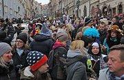 Malostranský masopust v sobotu 10.února 2018.