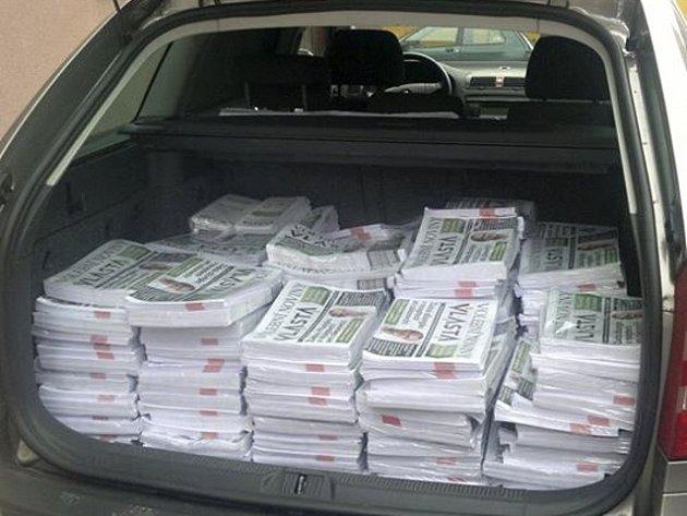 Noviny jako propagaci použila koalice Vlasta už během předvolební kampaně před komunálními volbami v roce 2014.