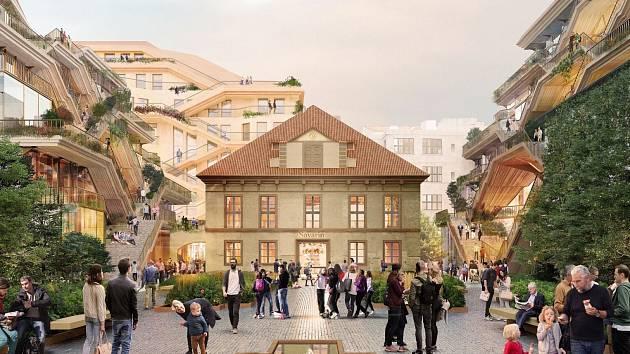 Projekt Savarin v centru Prahy.