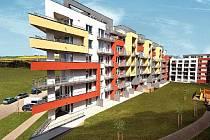 Doby, kdy bytové objekty byly jen pravidelné kvádry či hranoly, jsou již dávno pryč. V Metropoli Zličín se má opakovat motiv známý již z některých jiných míst v Praze – zakončení domovních bloků v ostrém úhlu a jasné barvy fasád.