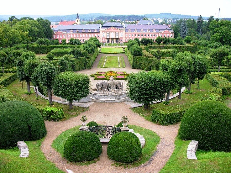 Francouzský park zámku