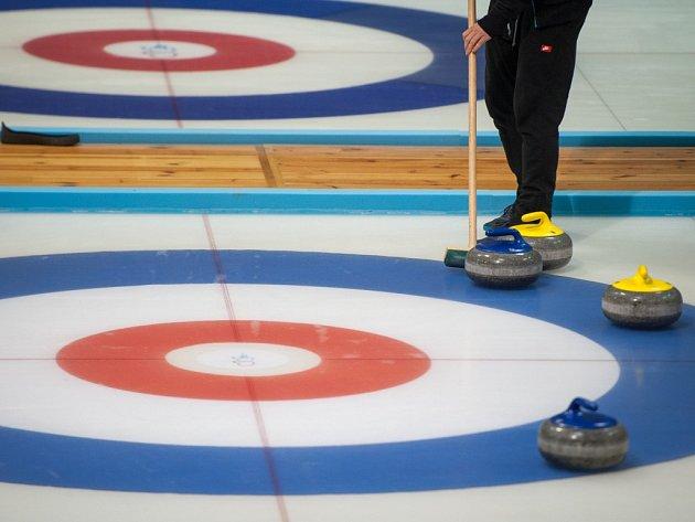 Curling. Ilustrační foto.