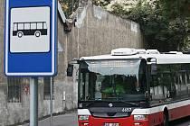 Autobusy v Praze. Ilustrační foto.