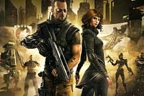 Počítačová hra Deus Ex: The Fall.