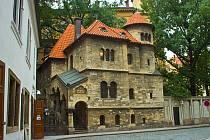 Klausová synagoga na Josefově.