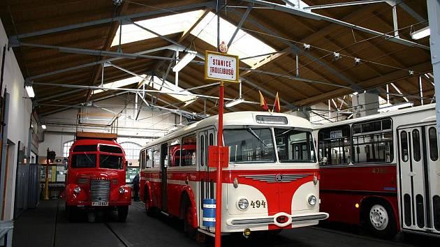 Muzeum MHD, trolejbus