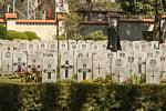 Pietní akt na Olšanských hřbitovech v sobotu 8. května 2021.