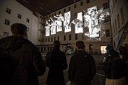 Generální zkouška Signal festivalu probíhala v centru Prahy 11. října. Na snímku Second Litany v Hybernské.