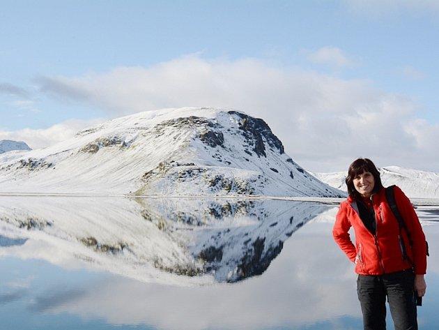 Janu Jakšovou si Island získal především díky krásné přírodě.
