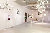 Výstava prací designérských talentů a značek současného českého skla s názvem Made in Bor.