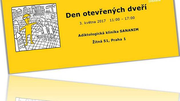 Pozvánka na den otevřených dveří Adiktologické kliniky SANANIM