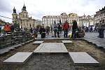 Tým akademického sochaře Petra Váni odkryl 29. května 2019 na Staroměstském náměstí v Praze dlažební kostky v místě, kde stál Mariánský sloup, a zahájil tím jeho obnovu.