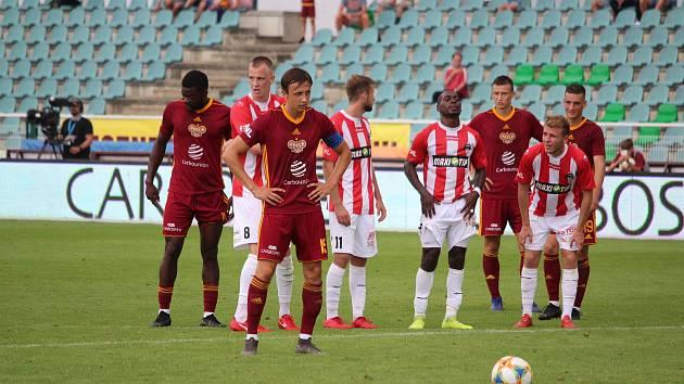 FORTUNA:NÁRODNÍ LIGA, 3. kolo: Dukla Praha - Viktoria Žižkov 2:0 (1:0).