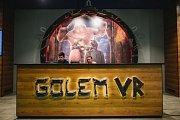 V pražském hračkářství Hamleys díky projektu Golem VR ožívá legendární příběh. Návštěvníci se také mohou projít po rudolfínské Praze.