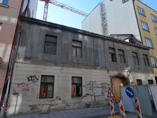 Historický dům v Soukenické ulici.