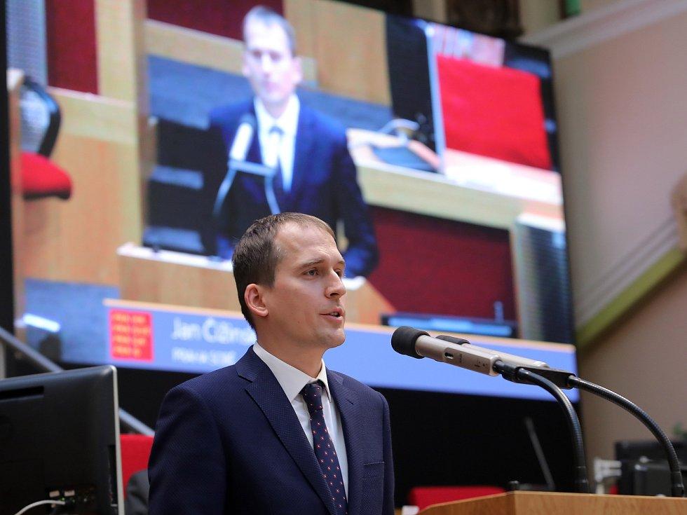 1. ustavující zasedání Zastupitelstva hlavního města Prahy pro volební období 2018 - 2022, které se koná ve velké zasedací síni Nové radnice 15.listopadu 2018.