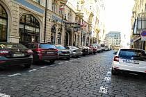 Parkování v Praze. Ilustrační foto.