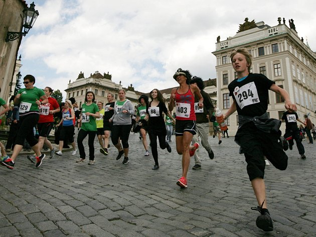 Třetí ročník charitativní akce Běh pro gorily se konal v sobotu 2.května a vedl od Pražského hradu na Náměstí Republiky.