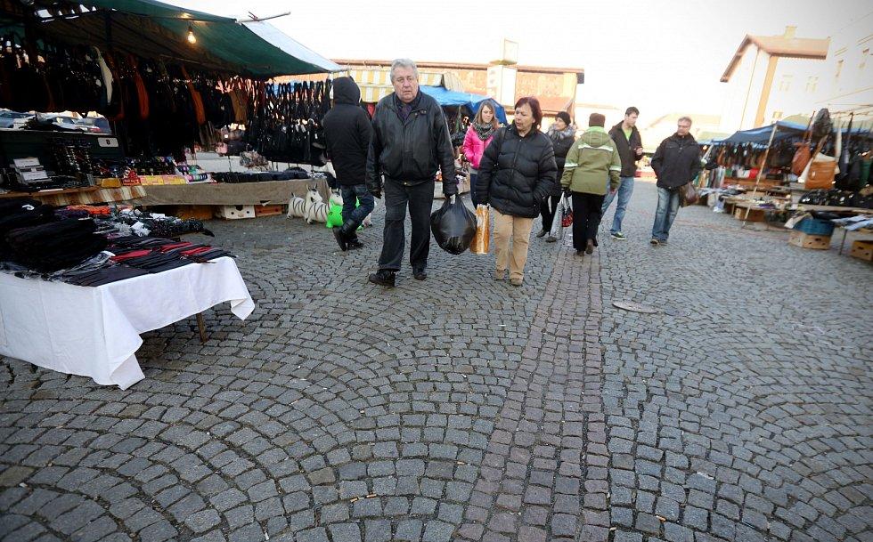 Holešovická tržnice.