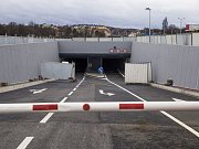 Garáže tunelu Blanka.