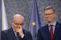 Daniel Herman a Pavel Bělobrádek