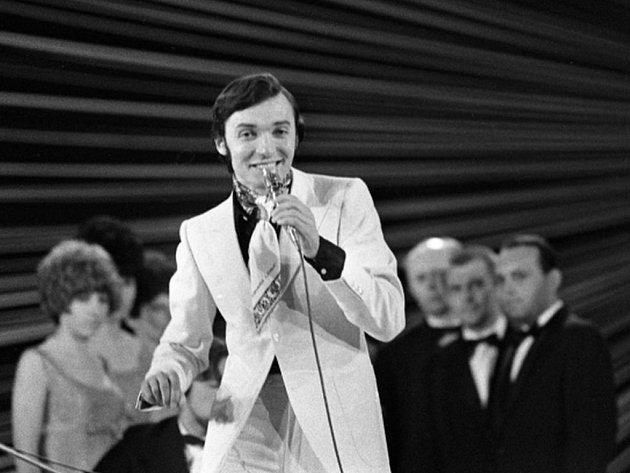 Karel Gott na Bratislavské lyře v roce 1969.