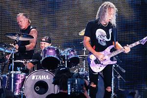 V pražských Letňanech vystoupila 18. srpna 2019 americká skupina Metallica.