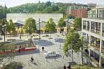 Praha 5 vystavuje architektonickou studii na proměnu Motolského údolí. Z Plzeňské ulice se má stát městská třída.