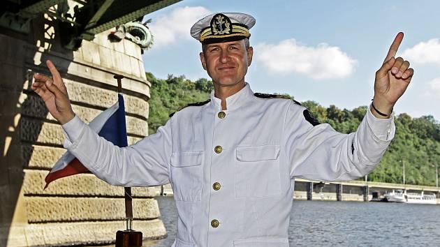 Ředitel nové pražské lodní společnosti Prezidentské plavby Štěpán Rusňák