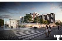 Veřejnosti byla představena proměna pražského hotelu InterContinental a jeho okolí.