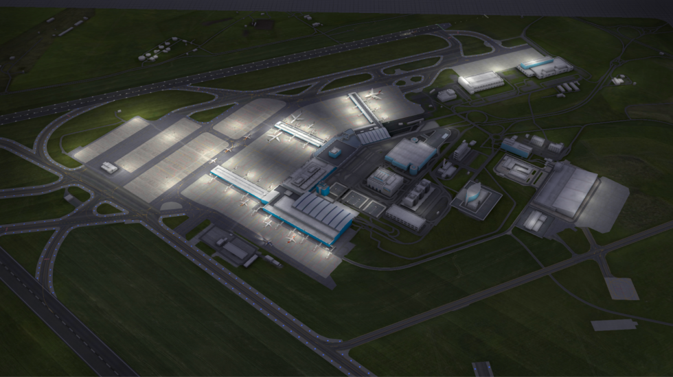 Hra World of Airports.