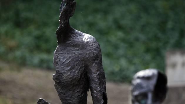 Památník obětem komunismu na Petříně.