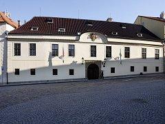 Hrzánský palác.