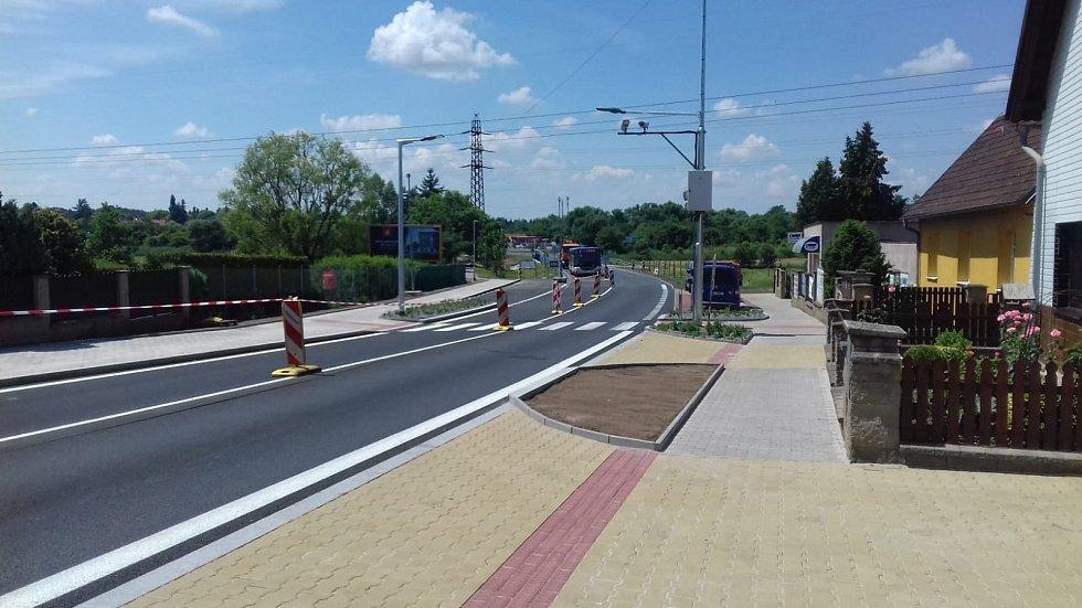 Opravené ulice v Praze. Českobrodská.