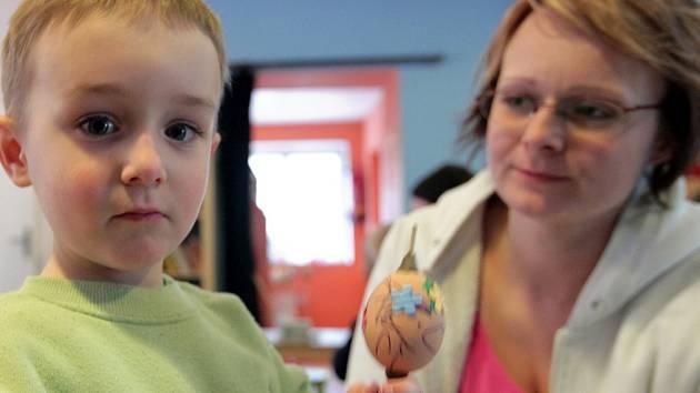 Velikonoční dílny pro předškoláčky v Klubu Klamovka