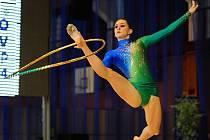 CHODOVSKÁ moderní gymnastka Andrea Kheilová.