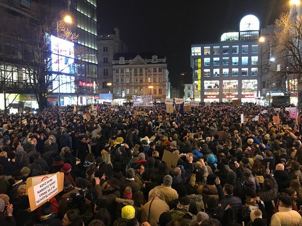 Protest proti Zdeňku Ondráčkovi včele komise pro kontrolu GIBS
